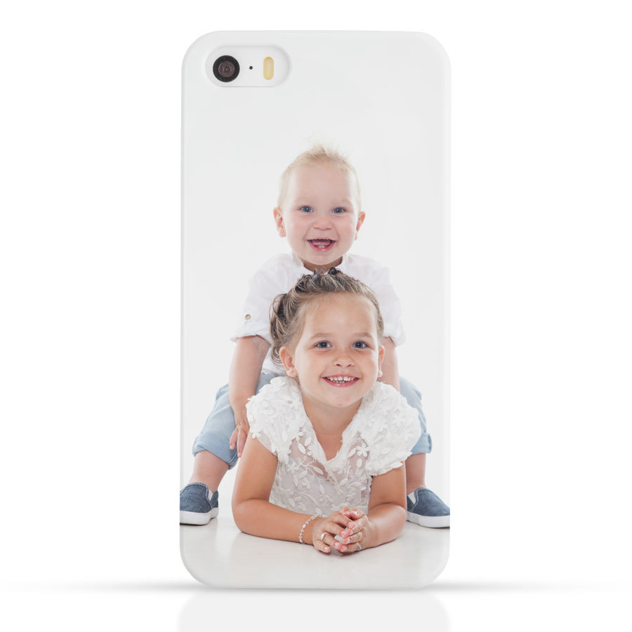 iPhone SE - Foto case rondom bedrukt