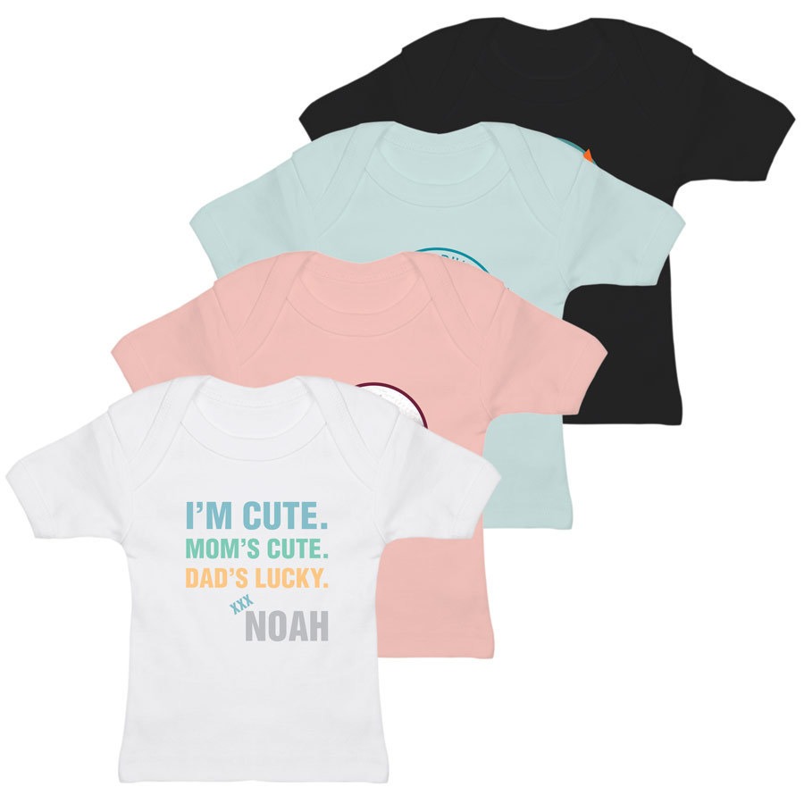 Baby T-Shirt bedrucken