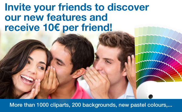 Recommend your friends and earn Club points