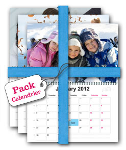 Pack Calendrier