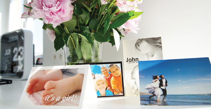 Uw gepersonaliseerde Kaarten met uw favoriete foto's