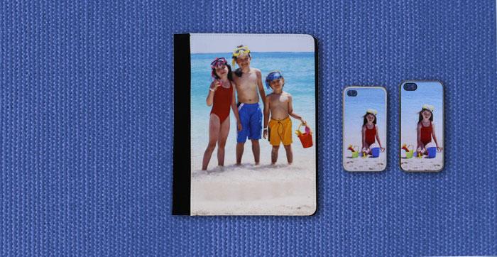 Personaliseerbaar Hoesje voor iPad, iPhone 4 en iPhone 5
