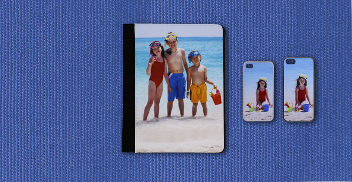 Custom cover for iPad, iPhone4, iPhone5