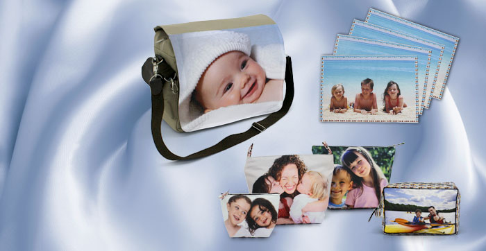 Wear your photos with our range of high quality Textiles printed with your own photos!