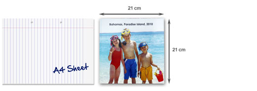 Photobook Casual 21 x 21