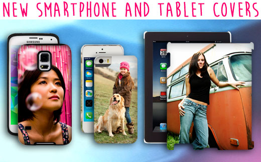 new smartphone and tablet covers