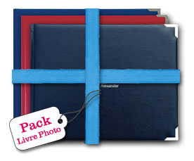 Pack Livres Photo Classic