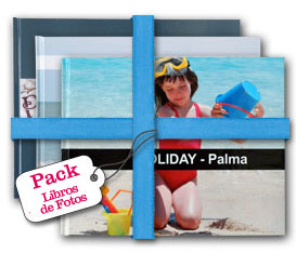 Pack Libros de Fotos